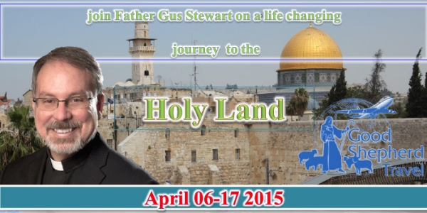 The Holy land: In the footsteps of Jesus - 6-17 April 2015