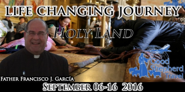 The Holy land: In the footsteps of Jesus - 6-16 September 2016