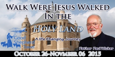 12 Days to the Holy Land - October 26 - November 06, 2015