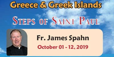 12 Days Greece & Greek Islands from Denver, CO - October 01 - 12, 2019 with Fr. James Spahn